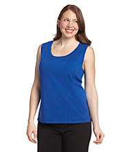 Laura Ashley® Plus Size Scoopneck Shell Top