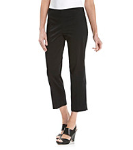 Jones New York Signature® Petites' Cotton Sateen Capri Pants