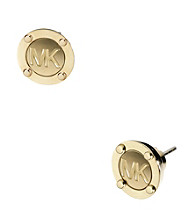 Michael Kors® Goldtone Astor Stud Earrings
