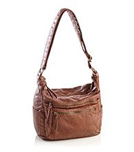 GAL Pearlized Washed Hobo