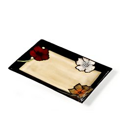 Pfaltzgraff® Everyday Painted Poppies Rectangular Platter