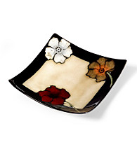Pfaltzgraff® Everyday Painted Poppies Square Plate