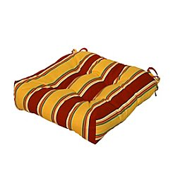 "Greendale Home Fashions 20"" Carnival Stripe Outdoor Chair Cushion"