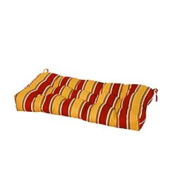 "Greendale Home Fashions 42"" Carnival Stripe Outdoor Sette Cushion"