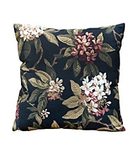 Greendale Home Fashions Set of 2 Midnight Floral Accent Pillows