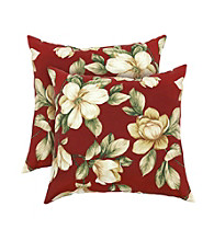 Greendale Home Fashions Set of 2 Romma Floral Accent Pillows