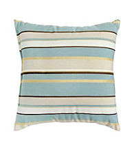 Greendale Home Fashions Set of 2 Spa Stripe Accent Pillows