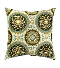 Greendale Home Fashions Set of 2 Spray Print Accent Pillows Spray