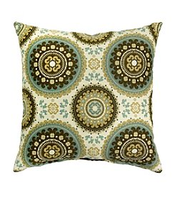 Greendale Home Fashions Set of Two Spray Print Accent Pillows Spray