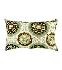 Greendale Home Fashions Set of Two Spray Print Rectangle Outdoor Accent Pillows