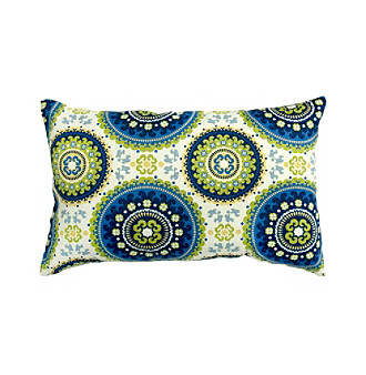 Greendale Home Fashions Set of Two Summer Print Rectangle Ou