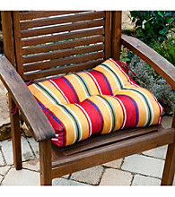 Greendale Home Fashions Carnival Stripe Outdoor Dining Cushion