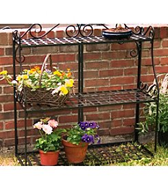 Panacea Products Forged Metal 3-Tier Plant Stand