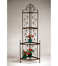 Tall Corner Planter Rack