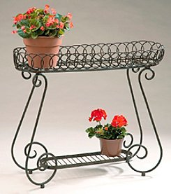 Oval Rings Long Planter