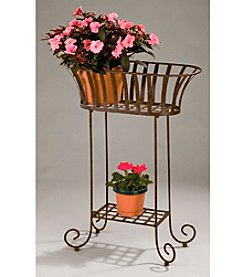Solera Metal Oval Planter