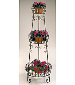 Metal 3-Tier French Planter