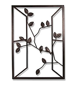 Dark Bronze Open Window Wall Art