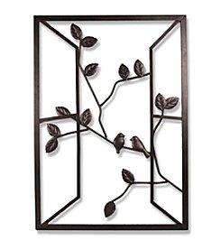 Dark Bronze Open Window Wall Art