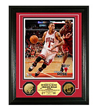 Derrick Rose 24KT Gold Coin Photo Mint by Highland Mint