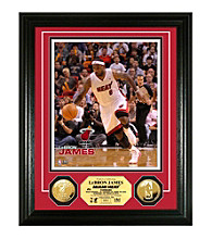 LeBron James 24KT Gold Coin Photo Mint by Highland Mint
