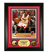 Dwyane Wade 24KT Gold Coin Photo Mint by Highland Mint