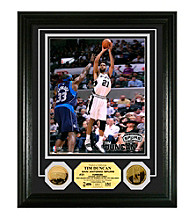 Tim Duncan 24KT Gold Coin Photo Mint by Highland Mint