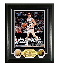 Manu Ginobili 24KT Gold Coin Photo Mint by Highland Mint