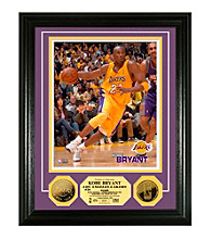 Kobe Bryant 24KT Gold Coin Photo Mint by Highland Mint