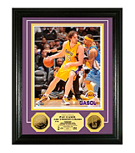 Pau Gasol 24KT Gold Coin Photo Mint by Highland Mint