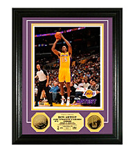 Ron Artest 24KT Gold Coin Photo Mint by Highland Mint