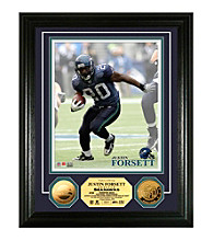 Justin Forsett 24KT Gold Coin Photo Mint by Highland Mint