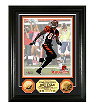 Chad Ochocinco 24KT Gold Coin Photo Mint by Highland Mint