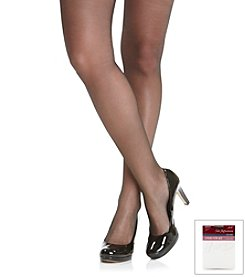 Hanes® Silky Sheer Sandalfoot Pantyhose with Control Top 3-Pack