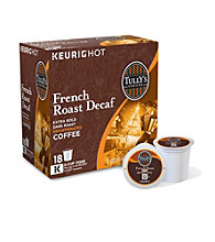 Tully's Coffee French Roast Decaf Extra Bold 18-pk. K-Cups®