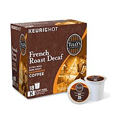 Keurig Tully's Coffee French Roast Decaf Extra Bold 18-pk. K-Cups®