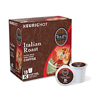 Tully's Coffee Italian Roast Extra Bold 18-pk. K-Cups®