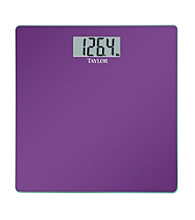 Taylor® Purple Glass Digital Scale