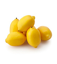 LivingQuarters Lemons Decorative Fill for Floral & Candle Arrangements