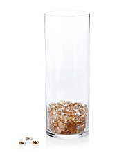LivingQuarters Glass Gems Decorative Fill for Floral & Candle Arrangements
