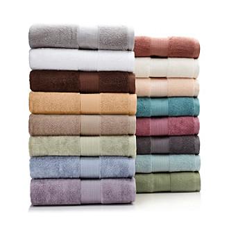 LivingQuarters Loft Eucalyptus Towel Collection