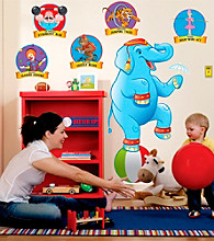Three-Ring Circus Giant Wall Decals