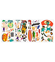 Phineas and Ferb Removable Wall Decorations