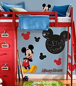 Disney™ Mickey Mouse® Chalkboard Peel-and-Stick Wall Decals