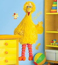Big Bird Giant Peel-and-Stick Wall Decals
