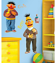 Bert and Ernie Peel-and-Stick Giant Wall Decals