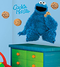 Cookie Monster Peel-and-Stick Giant Wall Decals
