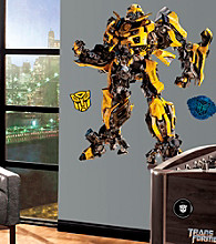 Transformers Bumblebee Peel & Stick Giant Wall Decals