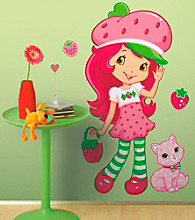 Strawberry Shortcake® Peel & Stick Scratch & Sniff Giant Wall Decal