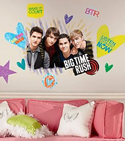 Big Time Rush Peel and Stick Giant Wall Decals